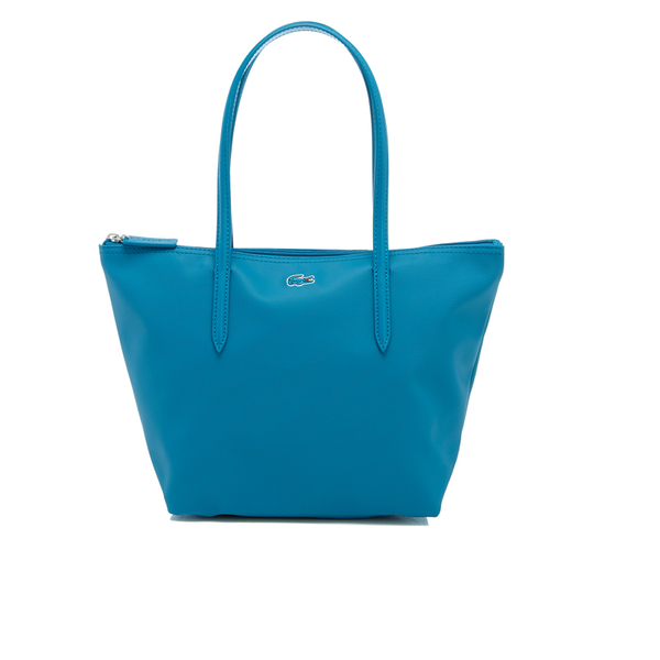 29b1fb3a035 Lacoste Women's Small Shopping Bag - Blue: Image 1