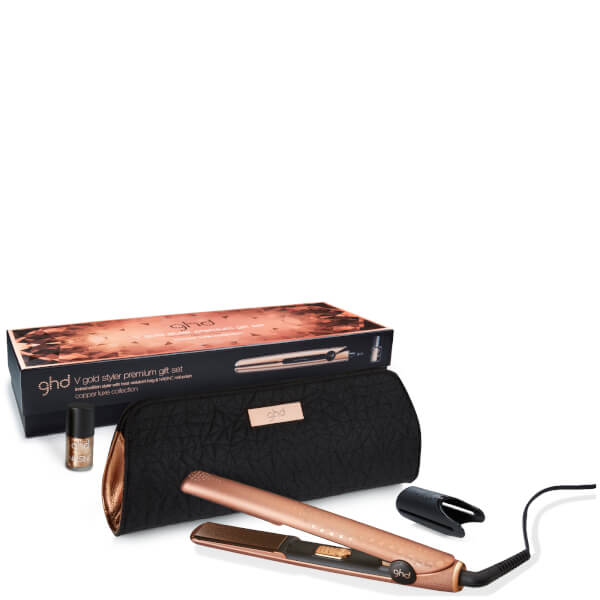 GHD V Gold Copper Luxe Styler Lote de Regalo