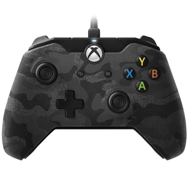 PDP Camo Wired Controller Xbox One Games Accessories   Zavvi
