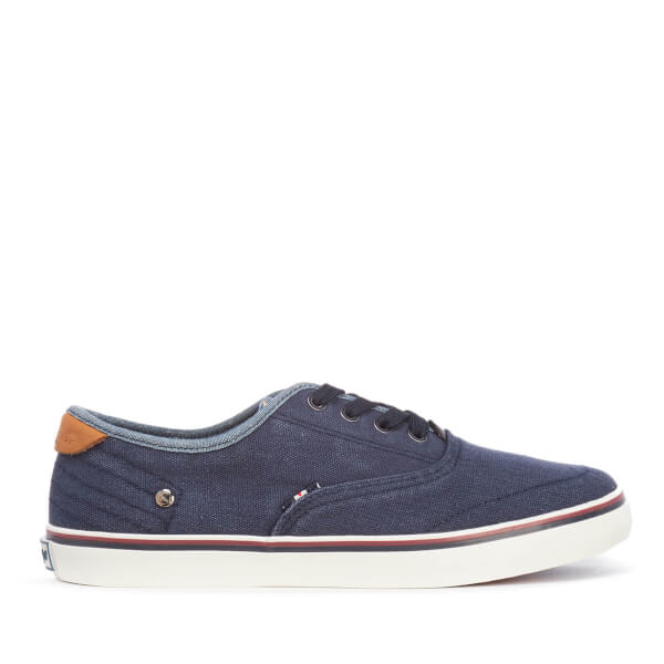 Wrangler Men's Legend Board Canvas Trainers - Navy: Image 1