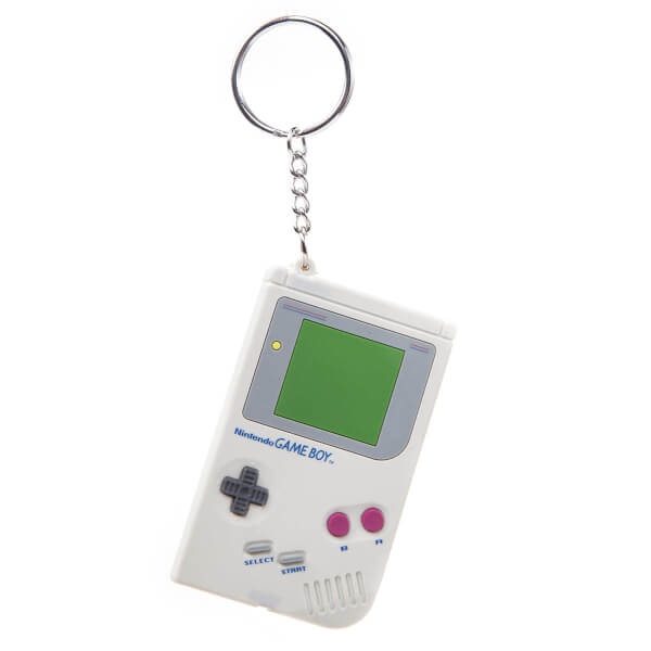 Game Boy - Rubber Keychain