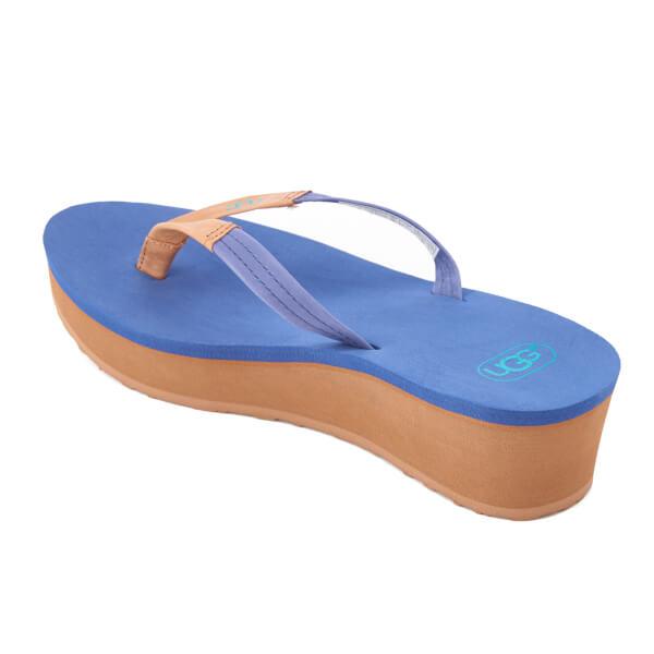 1f3b40e701b2 UGG Women s Ruby Wedged Flip Flops - Moonstone  Image 4