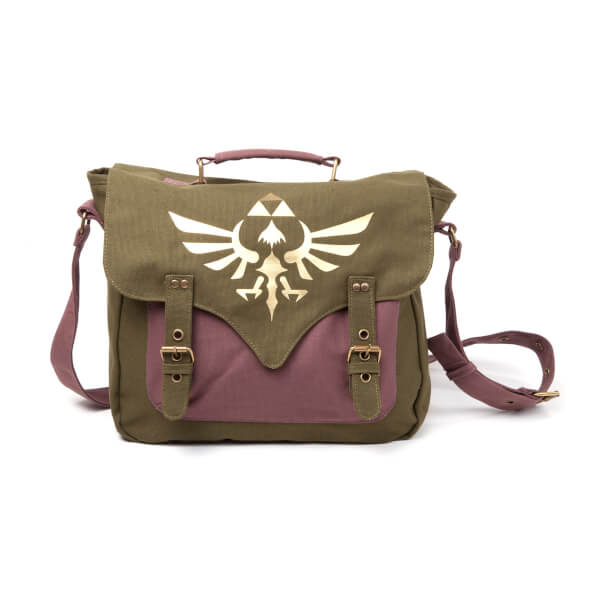 The Legend of Zelda - Canvas Messenger Bag