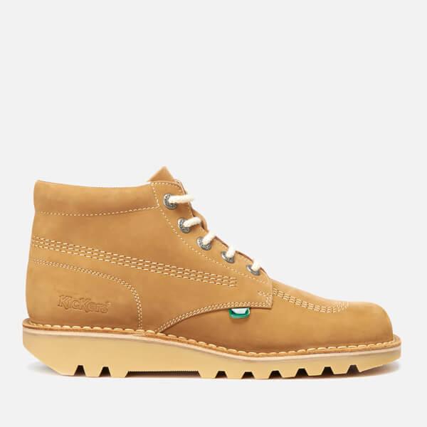 Kickers Men's Kick Hi Leather Boots - Tan