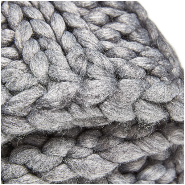 Ugg Oversized Knitted Blanket Grey Free Uk Delivery