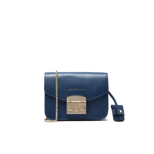 94a40da73d8d Furla Women s Mini Metropolis Crossbody Bag - Cobalt Blue  Image 1
