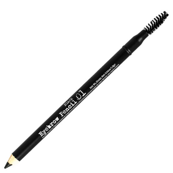The BrowGal Skinny Eyebrow Pencil 01 1.2g - Black
