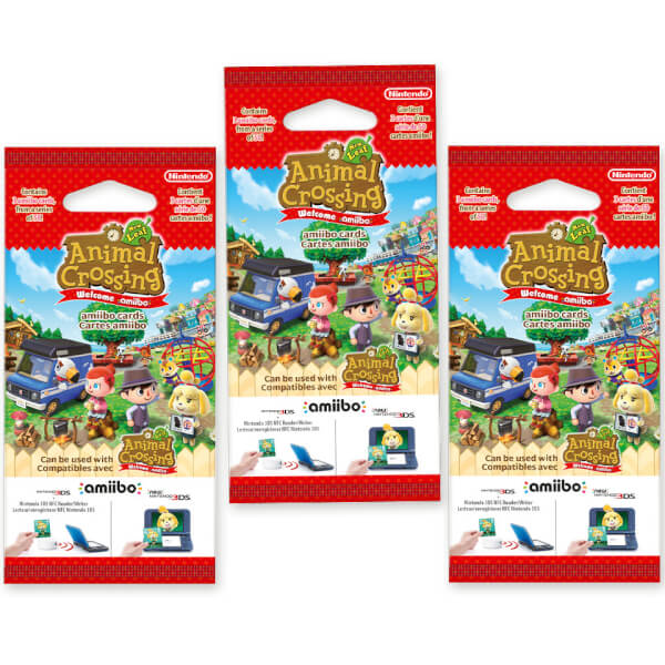 Animal Crossing: New Leaf amiibo Cards Triple Pack