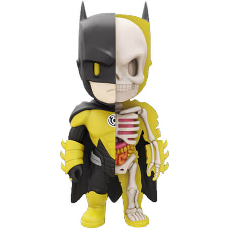 Figurine Batman DC Comics XXRAY Wave 5 Yellow Lantern