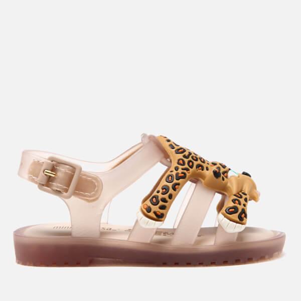 Mini Melissa Jeremy Scott Toddlers' Flox Sandals - Nude: Image 1