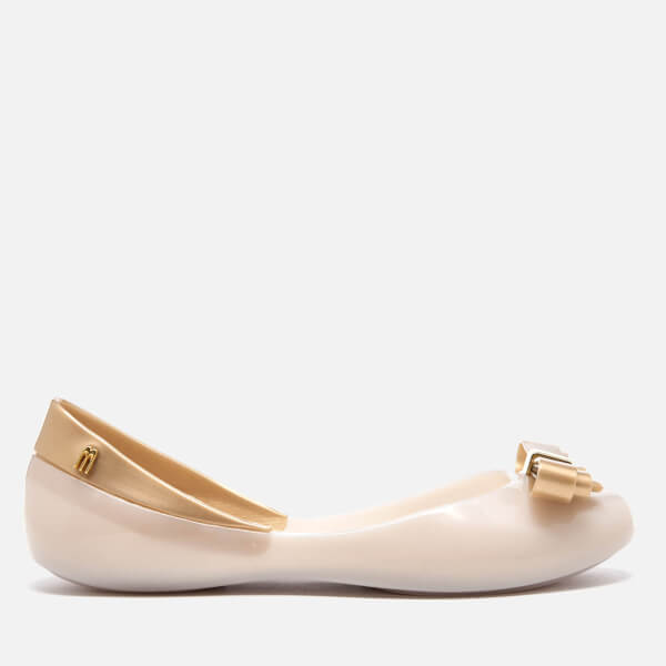 Melissa Women's Queen Ballet Flats - Frost Gold