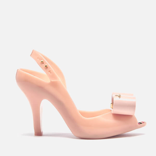 Vivienne Westwood for Melissa Women's Lady Dragon Bow Heeled Sandals - Nude