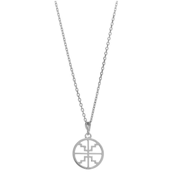 Kiki Minchin Women's The Baby Roxy Disc Necklace - Silver