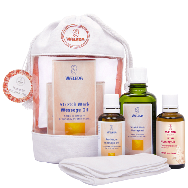 Weleda Mum-to-be Wash Bag Gift 2016 (Worth £24.95)