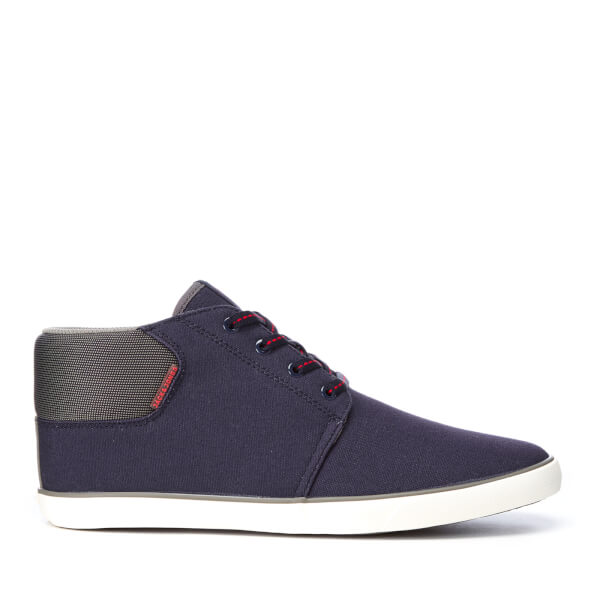 Baskets Homme Vertigo Mid Top Jack & Jones - Bleu Marine