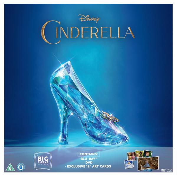 Cinderella Live Action - Big Sleeve Movie Edition