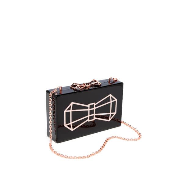 4d58b0f26e Ted Baker Women's Bowwe Glitter Resin Clutch Bag - Black: Image 3
