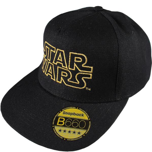 Star Wars Men's Retro Logo Cap - Black