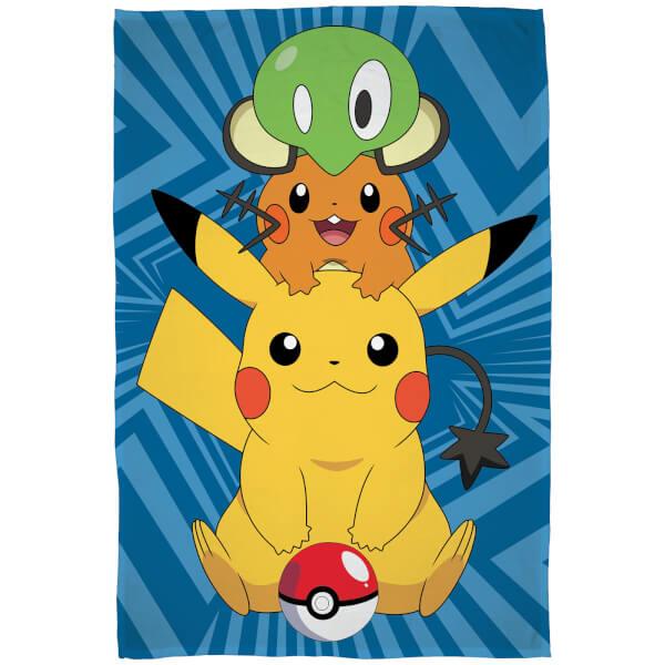 Pokémon Characters Fleece Blanket