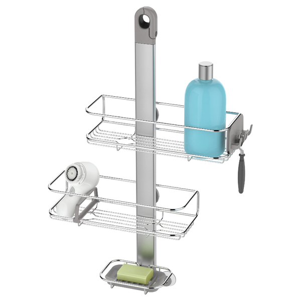simplehuman Adjustable Stainless Steel Shower Caddy