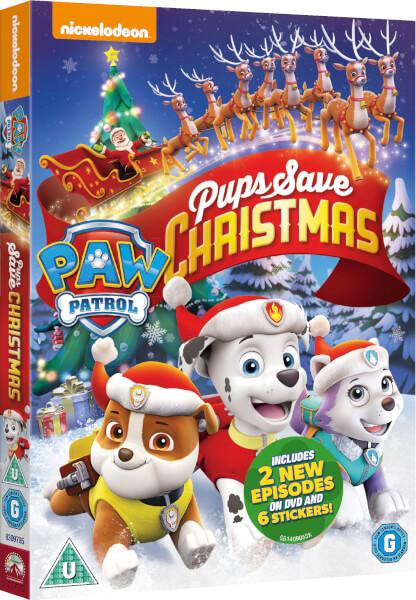 Paw Patrol Pups Save Christmas Dvd Zavvi Com