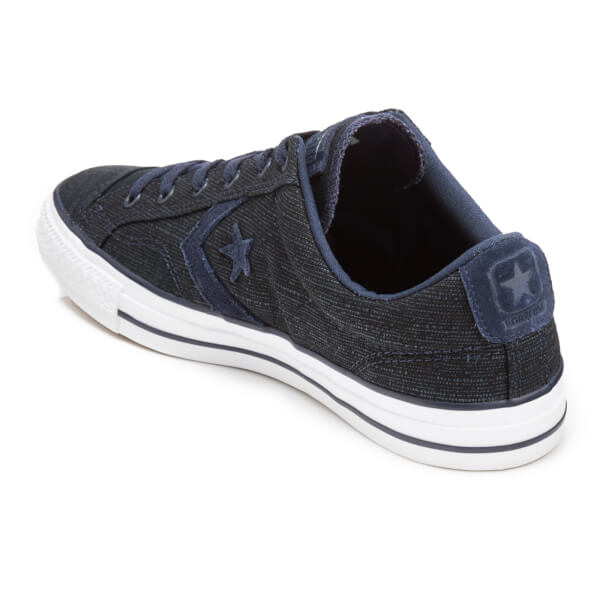 e95407d05ac4 Converse Men s CONS Star Player Ox Trainers - Obsidian Athletic Navy White   Image