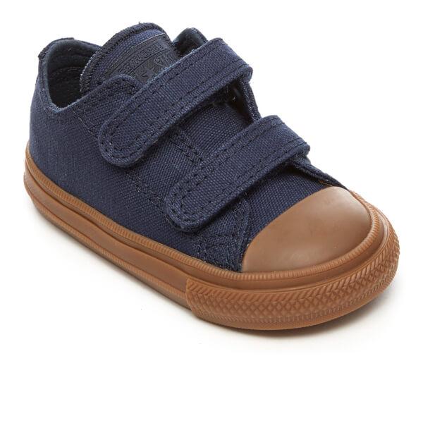 converse 2v. converse toddlers\u0027 chuck taylor all star ii 2v ox trainers - obsidian/gum: 2v