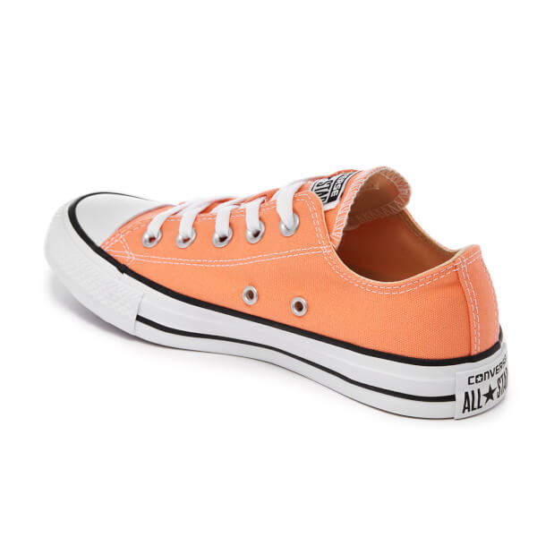 Converse Women s Chuck Taylor All Star Ox Trainers - Sunset Glow  Image 4 0980339ec
