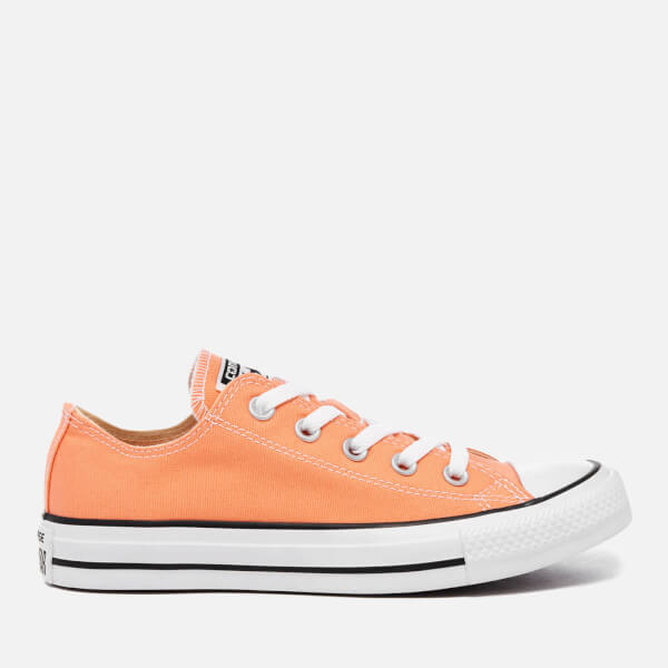 Converse Women s Chuck Taylor All Star Ox Trainers - Sunset Glow  Image 1 9928c5ea7