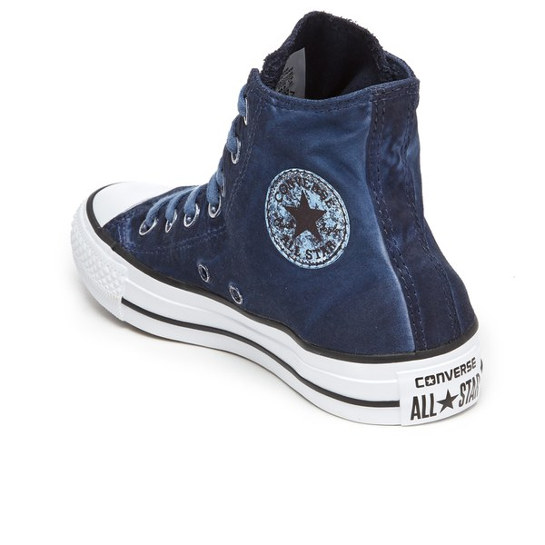 Converse Chuck Taylor All Star Hi-Top Trainers - Obsidian/Black/White: