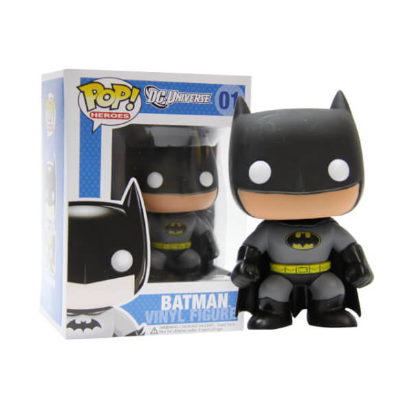 Funko Batman (Yellow Oval Error) Pop! Vinyl
