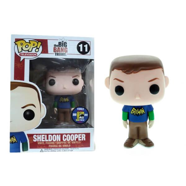 Funko Sheldon Cooper (Batman T-Shirt) Pop! Vinyl