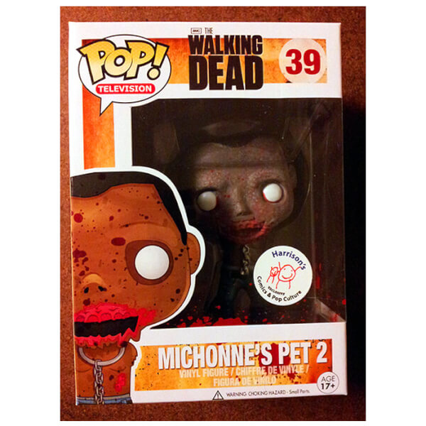 Funko Bloody Michonnes Pet 2 Pop! Vinyl