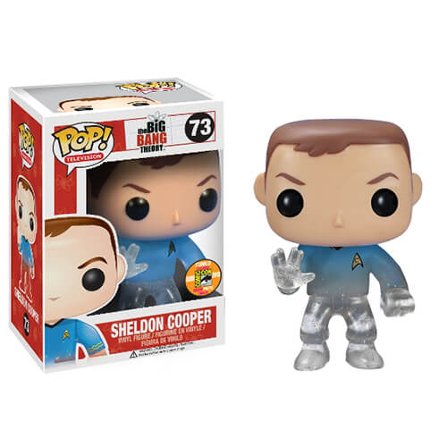 Funko Teleporting Star Trek Sheldon Cooper Pop! Vinyl