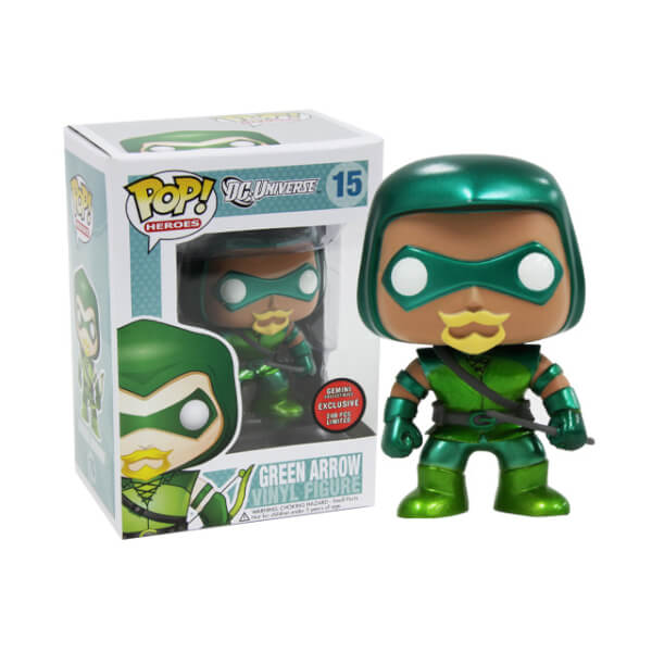 Funko Green Arrow (Metallic) Pop! Vinyl