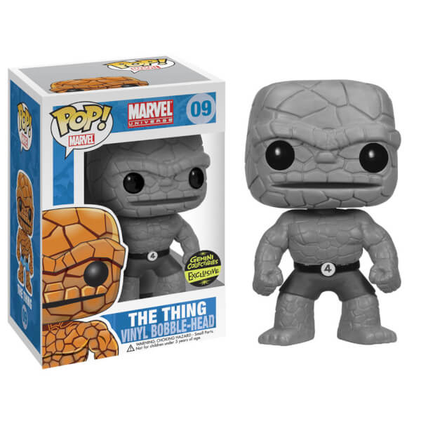 Funko The Thing B&W (Gemini Exclusive) Pop! Vinyl