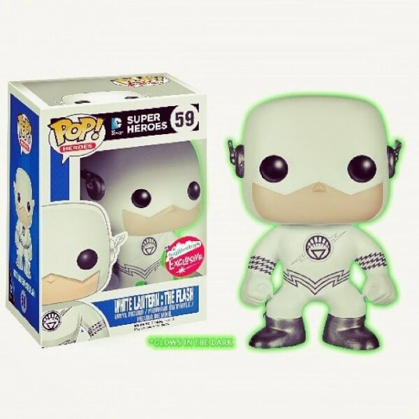Funko White Lantern The Flash GITD Pop! Vinyl