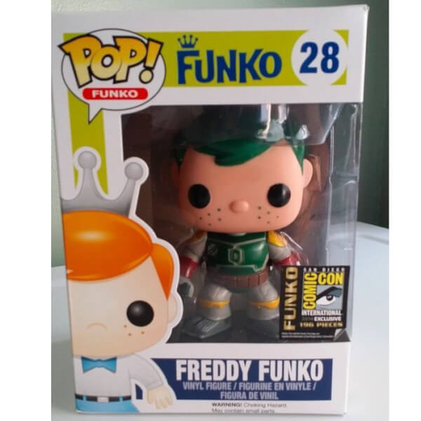 Funko Boba Fett Green Hair (Freddy) Pop! Vinyl