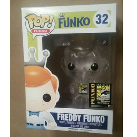Funko Freddy Funko (Clear) Pop! Vinyl