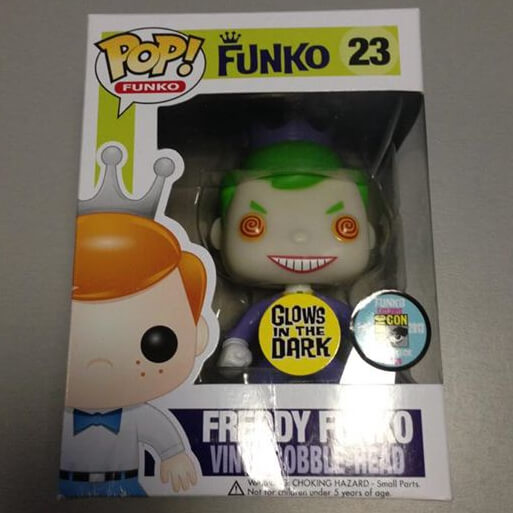 Funko The Joker Glow (Freddy) Pop! Vinyl