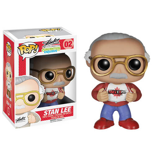 Funko Stan Lee (Fan Expo) Red Shoes Pop! Vinyl