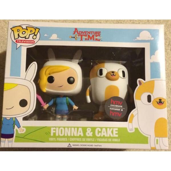 Funko Fionna & Cake Pop! Vinyl