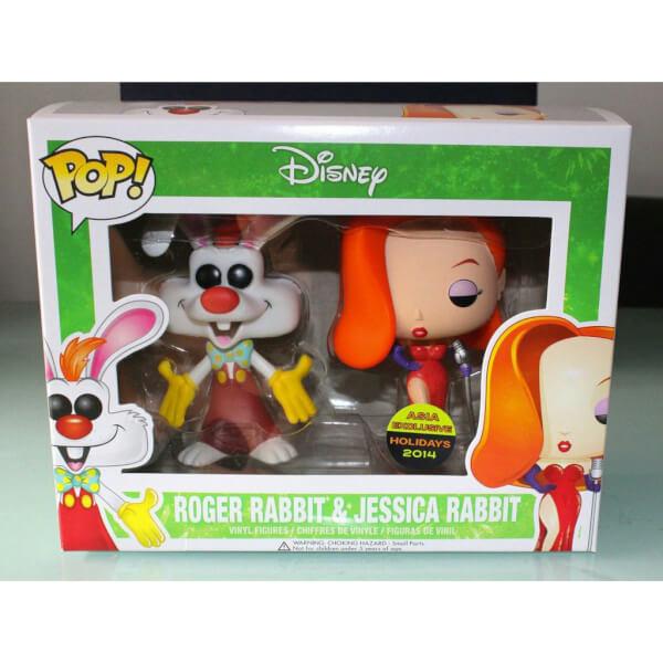 Funko Roger Rabbit & Jessica Rabbit Pop! Vinyl