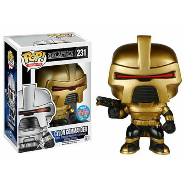 Funko Cylon Commander (Gold) Pop! Vinyl