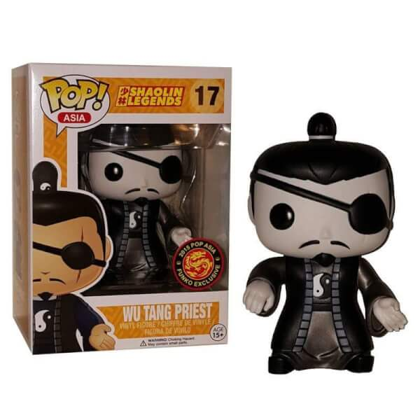 Funko Wu Tang Priest (Black & White) Pop! Vinyl