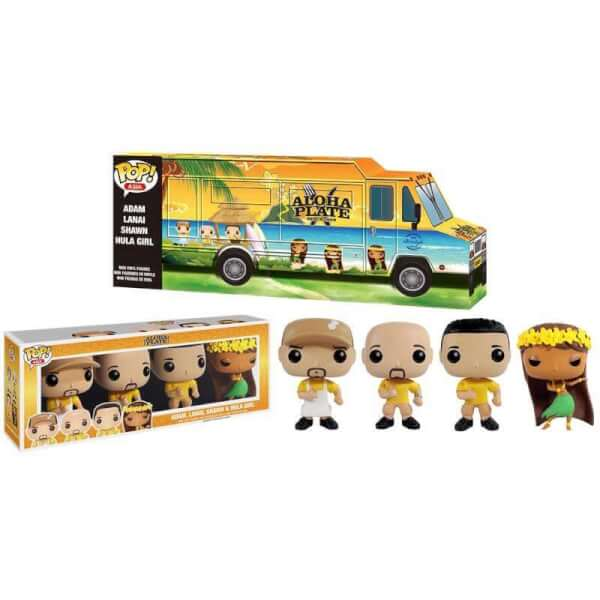 Funko Aloha Plate Truck 4-Pack Pop! Vinyl