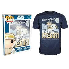 Funko XL-Star Wars Pop! Tee Come Visit Hoth Pop! Tees