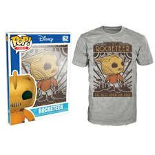 Funko The Rocketeer Pop! Tee The Next American Hero Pop! Tees