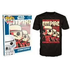 Funko Star Wars Pop! Tee Join The Galactic Empire Stop The Rebellion Pop! Tees