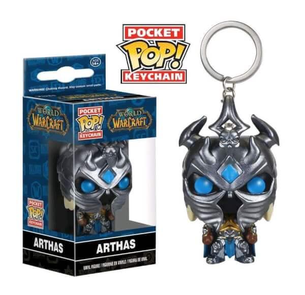 Funko Arthas Pop! Keychain